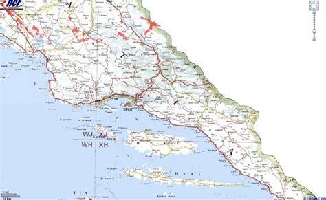 Infos sur : carte dalmatie du sud Arts et Voyages