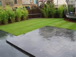Black Slate Patio 2014 Garden Design On Pinterest Contemporary Gardens