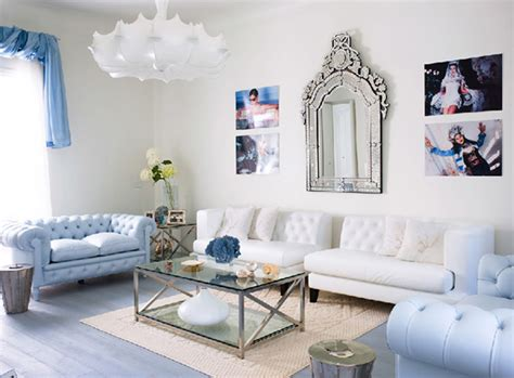 blue accessories for living room casual lounge neutral blue decosee