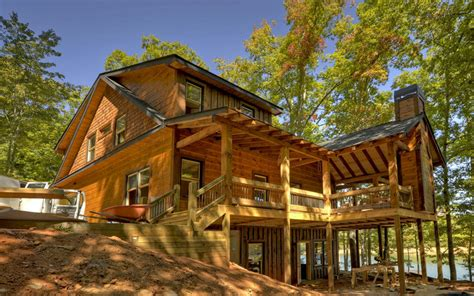 blue ridge mountain log cabins homes for sale