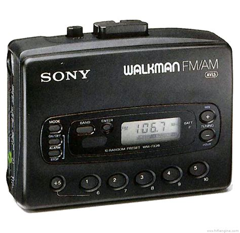 cassette player walkman sony wm fx28 manual walkman radio cassette player