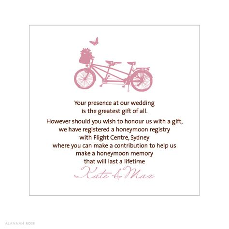 bridal shower honeymoon registry wording wedding gift registry wording gift ftempo