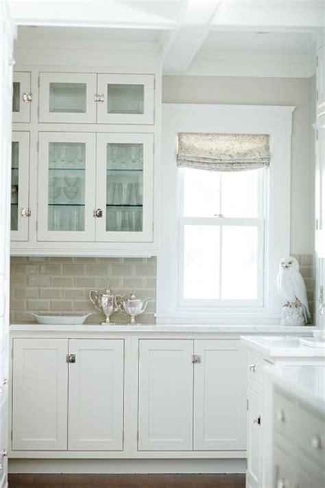 gray subway tile backsplash transitional kitchen benjamin edgecomb gray caitlin