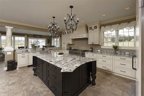 Black Glass Backsplash Spectacular Kitchen Family Room Renovation In Leesburg