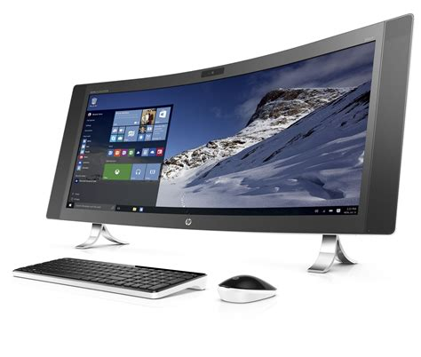 Pc All In One Hp hp s new all in one pc is curved and ultra wide the verge