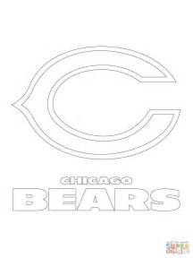 Chicago Bears Coloring Pages Chicago Bears Logo Coloring Page Free Printable Coloring