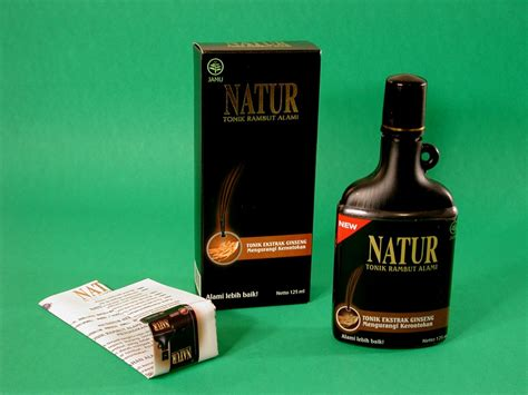 Harga Hair Tonic Natur Ginseng natur herbal hair tonic with ginseng extract