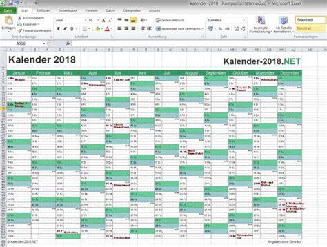 Kalender 2018 Mit Wochen Kalenderwochen 2018 Freeware De