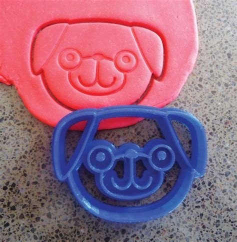 pug cookie cutter pug cookie cutters and dogs on