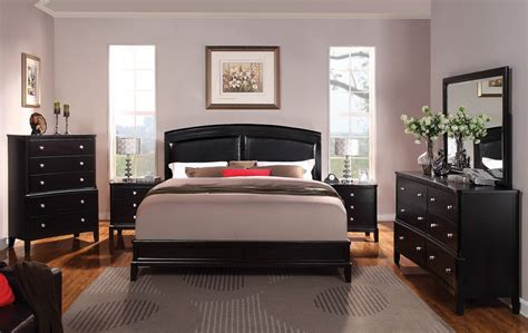 bedroom colors with black furniture gen4congress