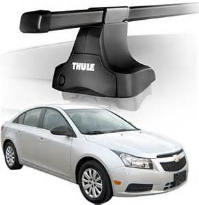 2014 chevrolet cruze roof rack complete system thule