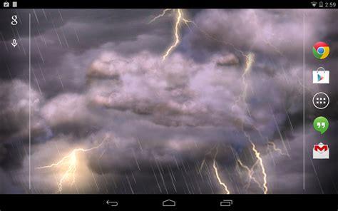 imagenes en movimiento de tormentas thunderstorm free wallpaper android apps on google play
