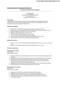 Communication Resume Samples are some pictures resume good communication skills in free resume