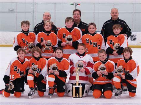 rams hockey rams travel team wins compuware tournament