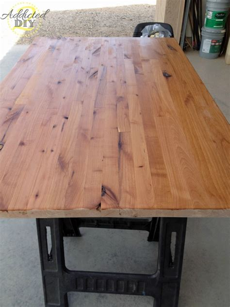 butcher block table top diy how to build your own butcher block addicted 2 diy