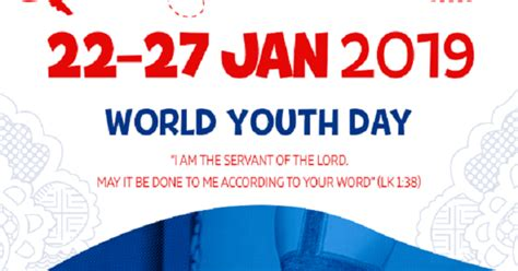 Endorsement Letter For World Youth Day Diocese Of Paisley Word Youth Day Panama 2019 Dates
