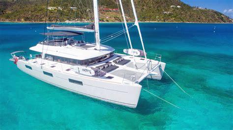 catamaran for charter le reve crewed catamaran charter virgin islands view