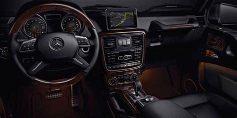 mercedes g class interior 2016 g class suv mercedes benz