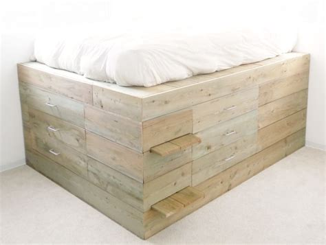 grey wood bed frame furniture grey wooden high platform bed frame with high