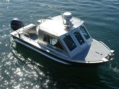 Cabin Boat by 21 Bowen Aluminum Cabin Boat By Silver Streak Boats