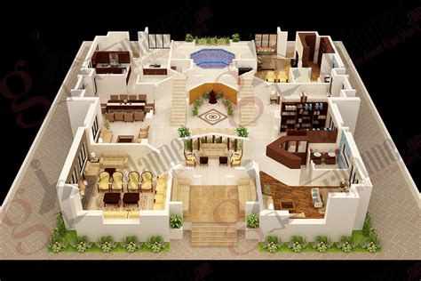 Bedroom apartmenthouse plans pictures house design 3d 6 bedrooms of four decor interalle com