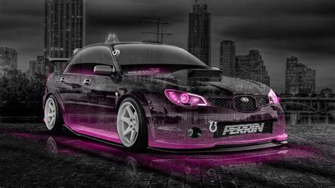 pink subaru subaru impreza wrx sti jdm tuning crystal city car 2014