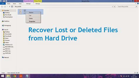 How To Recover A by Recover Deleted Files Riepocato S