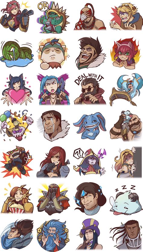 Meme Stickers For Facebook - league of legends facebook stickers available to download