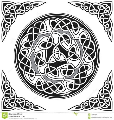 celtic design elements vector vector celtic design element royalty free stock images