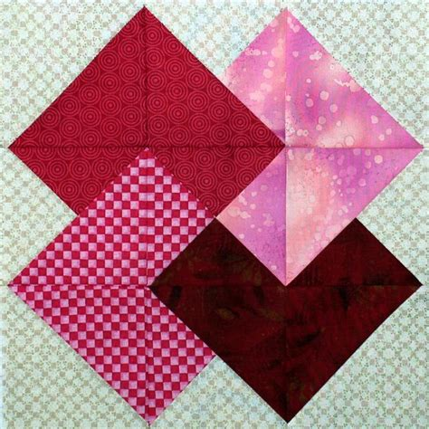 Block Quilt Patterns by Trick Quilt Block Pattern By Persimondreams Craftsy