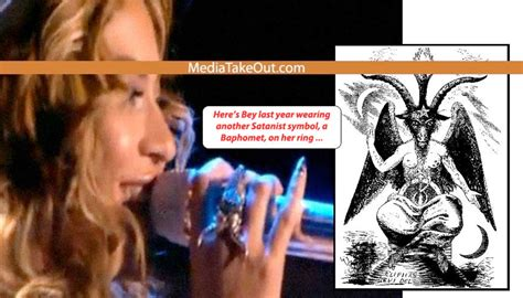 beyonce illuminati ring beyonce s band member claims she s a satan worshipper