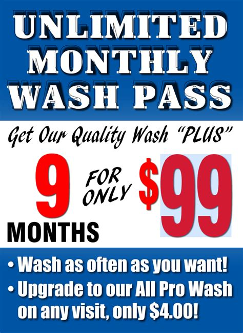 waukegan car wash unlimited monthly wash pass