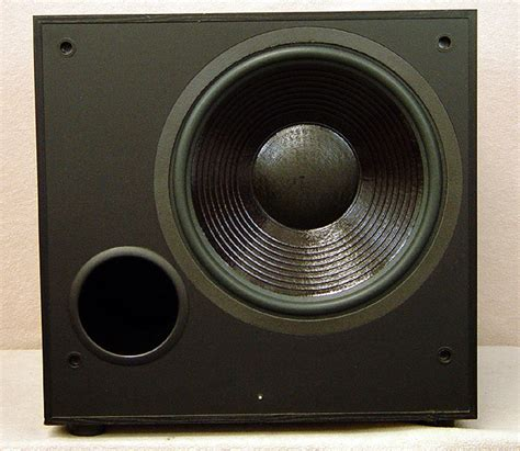 Home Theater Merk Visilux M 512 home theater subwoofers powered subwoofer passive subs