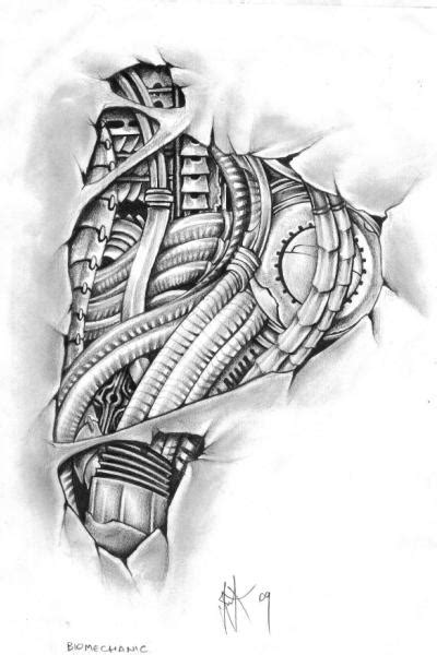biomechanical foot tattoo by egypcio on deviantart