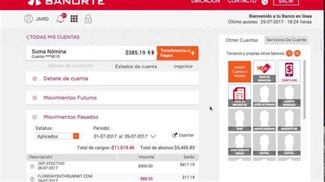 banco en linea banorte paypal banorte configurar cuenta youtube
