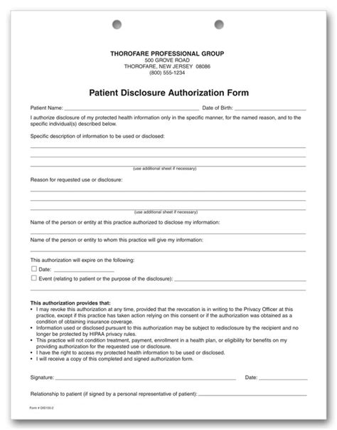 hipaa consent forms simple hipaa release form sle