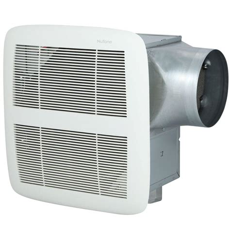 high cfm bathroom fan nutone invent series 110 cfm ceiling exhaust bath fan with