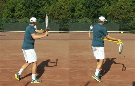 forehand swing tennis forehand technique 8 steps to a modern forehand