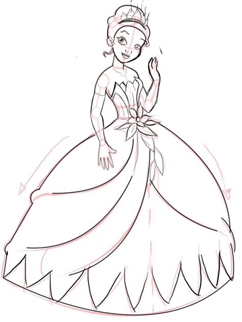 28 Best Images About Drawing On Pinterest Drawing How To Draw A Princess Dress Step By Step Printable