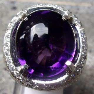 Batu Akik Flourite Ungu Iga063 purple amhetys jp354 jual batu permata hobi permata