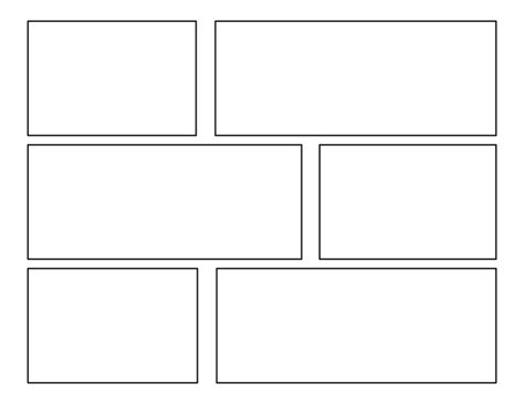 6 panel comic template 3rd grade batch of comic templates school ideas