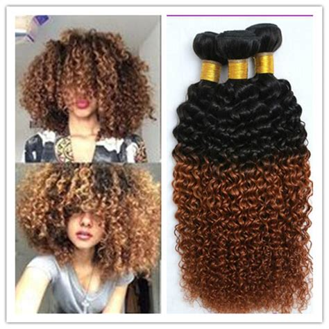 ombre tips and styles for kinky hair 1b 30 mongolian kinky curly afro kinky hair weave bundle