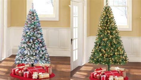 walmart christmas tree coupon walmart trees on sale best deals cheap pre lit trees