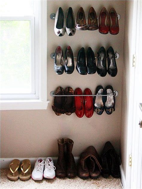 diy shoe storage solutions 386 best images about diy home tested solutions on
