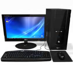 Desktop Computer Jpg Computer Black Desktop Pc 3d Max