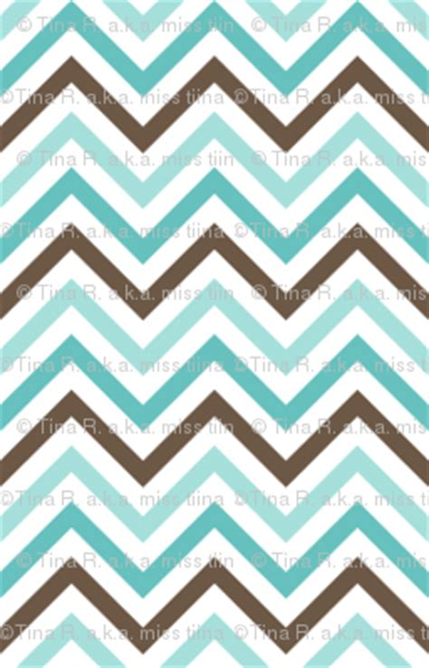 wallpaper blue and brown everyday chevron teal blue brown fabric misstiina