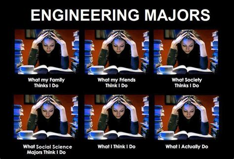 Engineering Major Meme - engineering majors man i love college pinterest