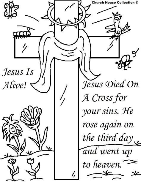 coloring pages jesus died on the cross 25 religious easter coloring pages free easter activity