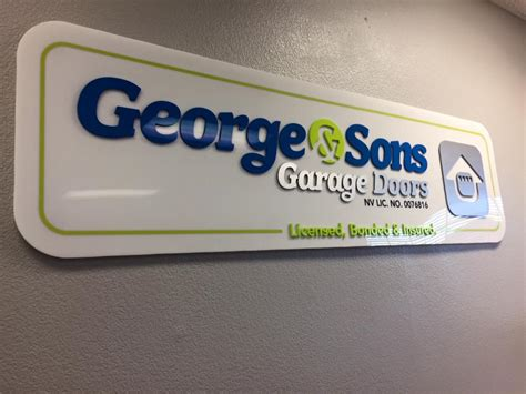 George And Sons Garage Doors by Home George And Sons Garage Doors