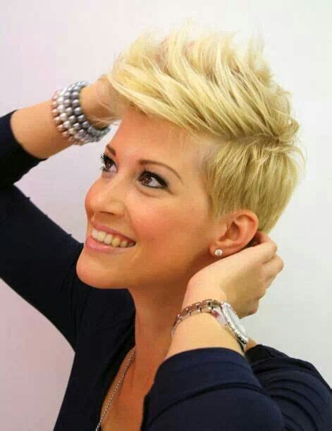 Haircut To Style Better | blonde pixie cut too cute the shorter the better